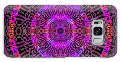 Galaxy Case featuring the digital art #051702158 by Visual Artist Frank Bonilla