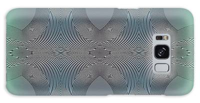 Galaxy Case featuring the digital art #061220171 by Visual Artist Frank Bonilla