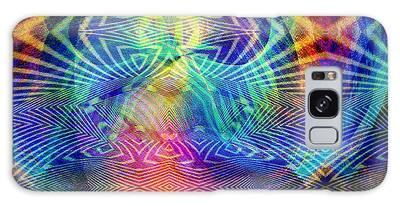 Galaxy Case featuring the digital art #0619201517 by Visual Artist Frank Bonilla