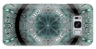 Galaxy Case featuring the digital art #070420152 by Visual Artist Frank Bonilla