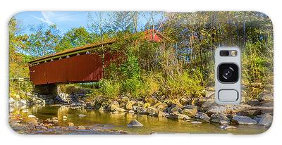 Everett Covered Bridge  Galaxy Case