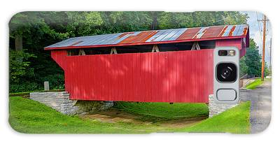 Feedwire Covered Bridge - Carillon Park Dayton Ohio Galaxy Case