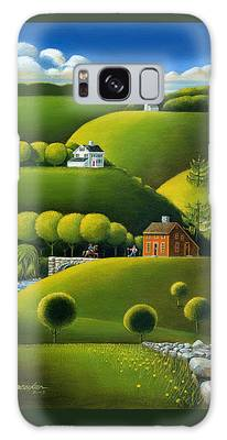 Foothills Of The Berkshires Galaxy Case