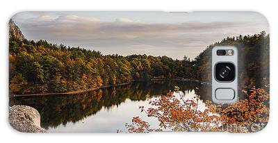 Mohonk Mountain House Lake Galaxy Case