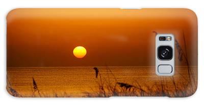 Sunrise Sea Oats Galaxy Case