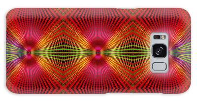 Galaxy Case featuring the digital art #122720154 by Visual Artist Frank Bonilla