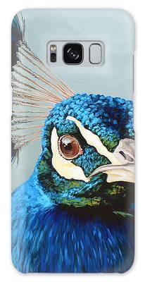 Peacock Galaxy Cases