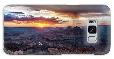 Grand Canyon Monsoon Sunset Galaxy Case