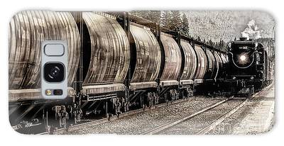 Galaxy Case featuring the photograph 2816 Empress Passing Grain by Brad Allen Fine Art