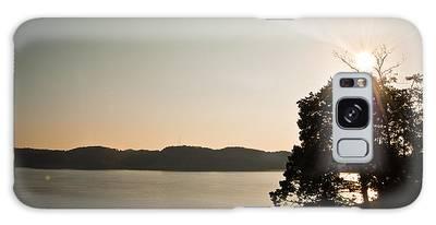 Lake Cumberland Sunset Galaxy Case