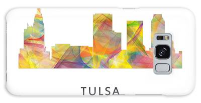 Tulsa Ok Digital Art Galaxy Cases