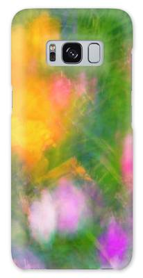 Summer Impression Series Panorama - Flowers Galaxy Case by Ranjay Mitra