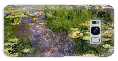Garden Pond Galaxy Cases