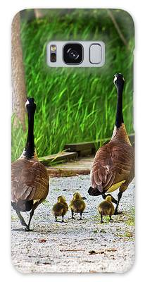 A Family Stroll Galaxy Case