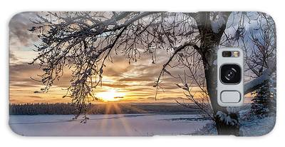 Galaxy Case featuring the photograph A Glenmore Sunset by Brad Allen Fine Art