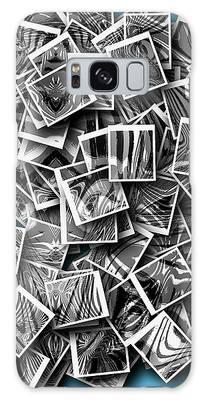 Abraxas Collage Galaxy Case by Visual Artist Frank Bonilla