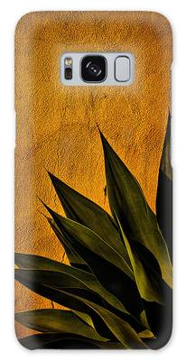 Adobe And Agave At Sundown Galaxy Case