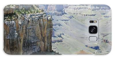 Afternoon At The Canyon Galaxy Case