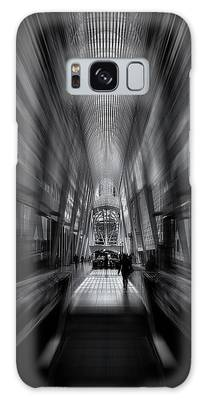 Galaxy Case featuring the photograph Allen Lambert Galleria Toronto Canada No 1 Flow Version by Brian Carson