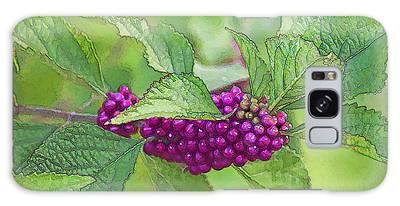 American Beautyberry Galaxy Case