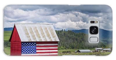 American Landscape Galaxy Case