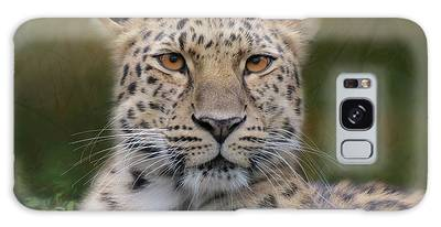Galaxy Case featuring the photograph Amur Leopard by Patti Deters