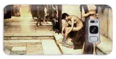 Roman Bath Paintings Galaxy Cases