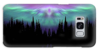 Angels Watching Over You Galaxy Case