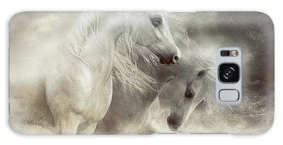 Arabian Horses Sandstorm Galaxy Case