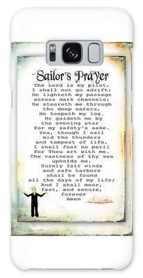 Sailor's Prayer Galaxy Case