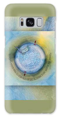 Courage To Lose Sight Of The Shore Orb Mini World Galaxy Case