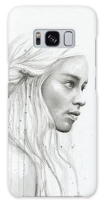 Khaleesi Paintings Galaxy Cases