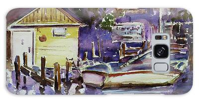 At Boat House 3 Galaxy Case