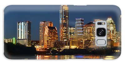 Austin Skyline Galaxy Cases