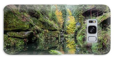 Autumn In The Kamnitz Gorge Galaxy Case