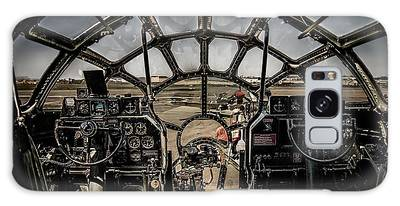 B29 Superfortress Fifi Cockpit View Galaxy Case