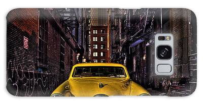 Back Alley Taxi Cab Galaxy Case