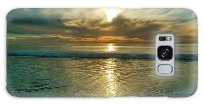 Beach Sunset Galaxy Case