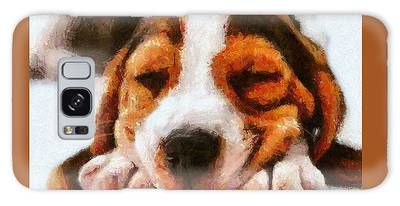 Beagle Puppy Galaxy Case