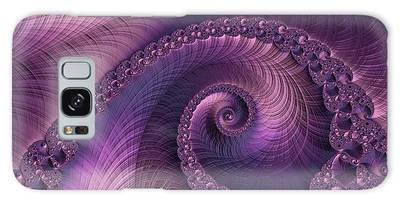 Galaxy Case featuring the digital art Beauty Of Sorrow by Susan Maxwell Schmidt