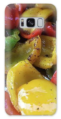 Bell Peppers Original Iphone Photo Galaxy Case by Visual Artist Frank Bonilla