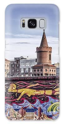 Berlin Wall Galaxy Case by Juergen Held