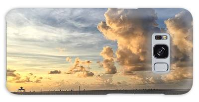Big Cloud And The Pier, Galaxy Case