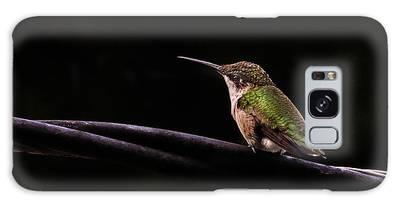 Bird On A Wire Galaxy Case