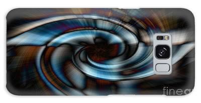 Black And Blue Galaxy Case