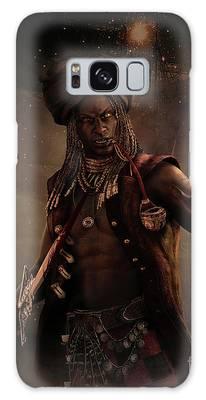 Black Caesar Pirate Galaxy Case