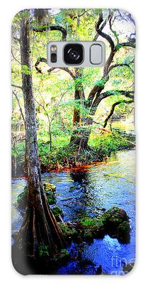 Blues In Florida Swamp Galaxy Case