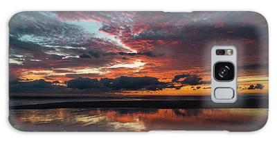 Bold Sunrise Delray Beach Florida Galaxy Case