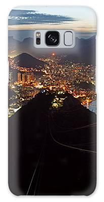 Brasil,rio De Janeiro,pao De Acucar,viewpoint,panoramic View,copacabana At Night Galaxy Case by Juergen Held