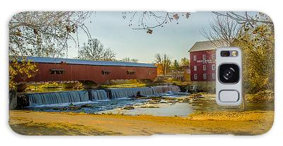 Bridgeton Mill Covered Bridge Galaxy Case